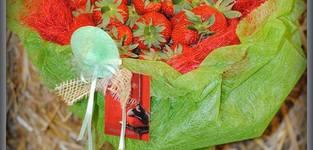 Le bouquet de fraises