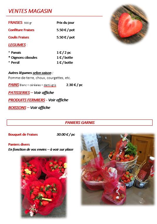 Audacieuse Produits de qualité Gerpinnes | Les Fraises du Village : La Ferme IG-36